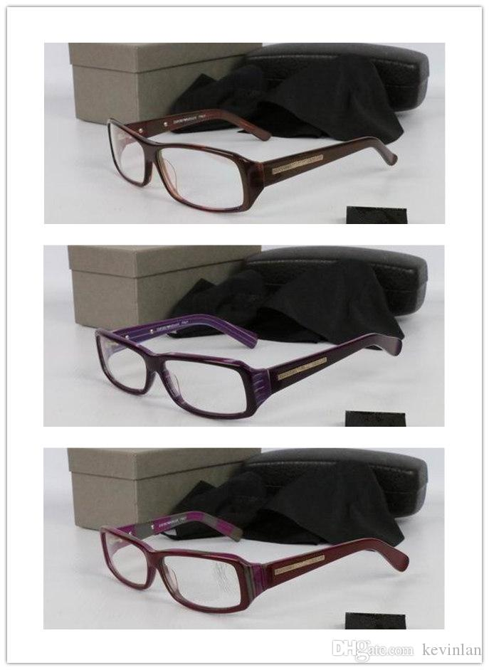Mit Box Brand Designer Full-Frame-Plain Brille Großhandel für Männer und Frauen Sonnenbrillen google Rectangle Sonnenbrille fahren