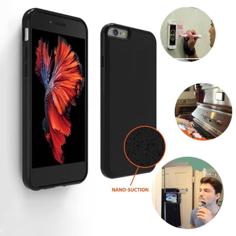 Anti yerçekimi case için iphone 7 7 plus iphone 6 6 s artı sihirli sopa telefon kapak