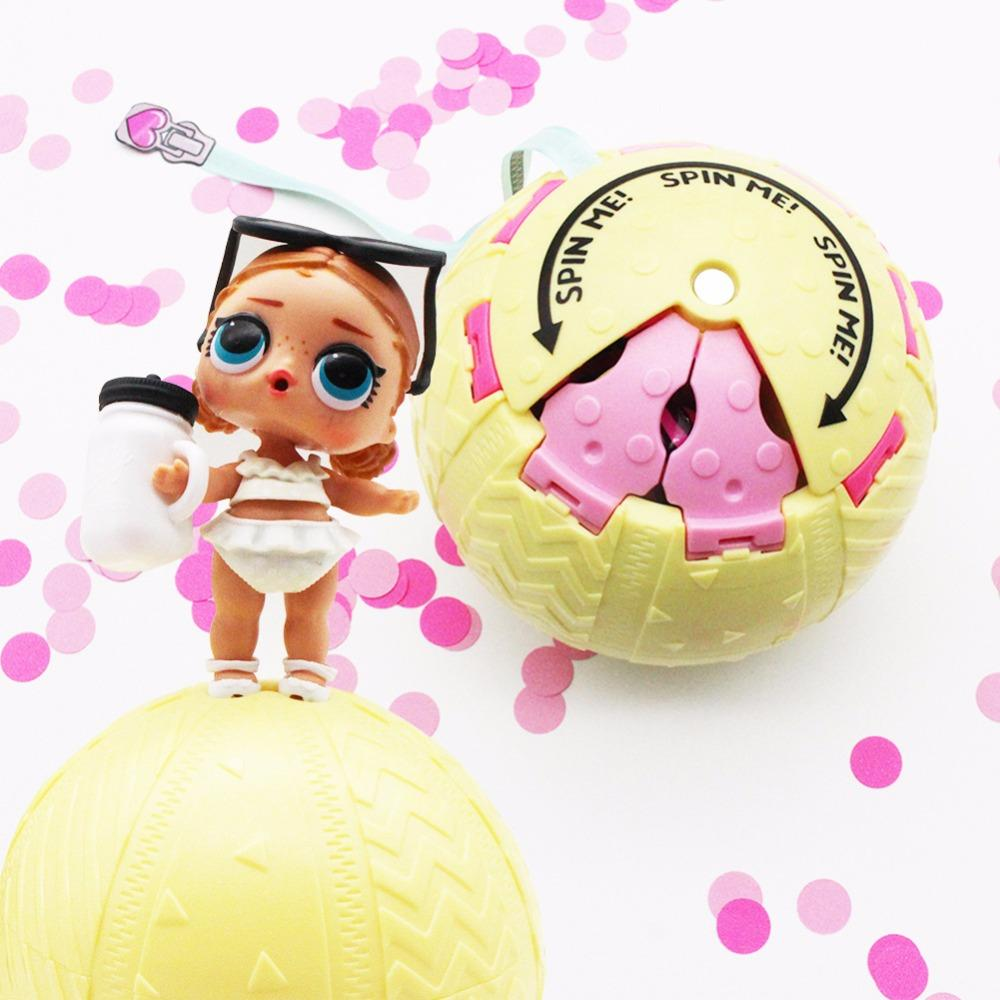 10cm Lol Dolls In Ball Toys For Girls Adults Confetti Pop Gifts