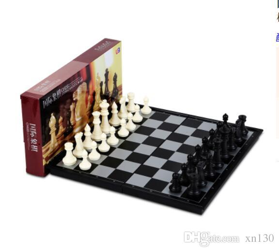 Chess Magnetic Upscale Children Set Adult Folding Board Chess