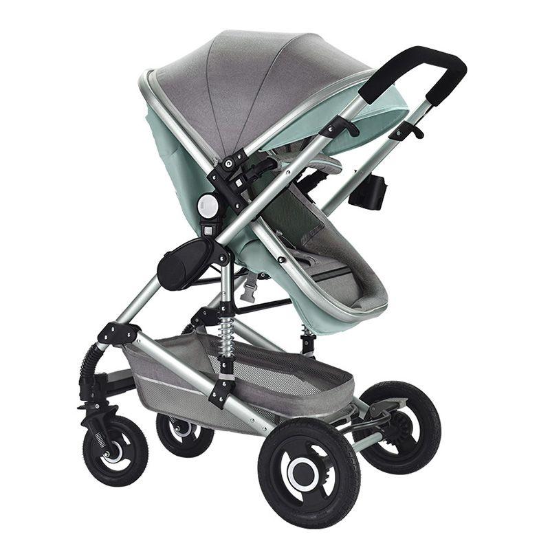 Multifuncional 3 en 1 cochecito de bebé aleación de aluminio marco de aleación de alto paisaje cochecito de bebé envío gratis