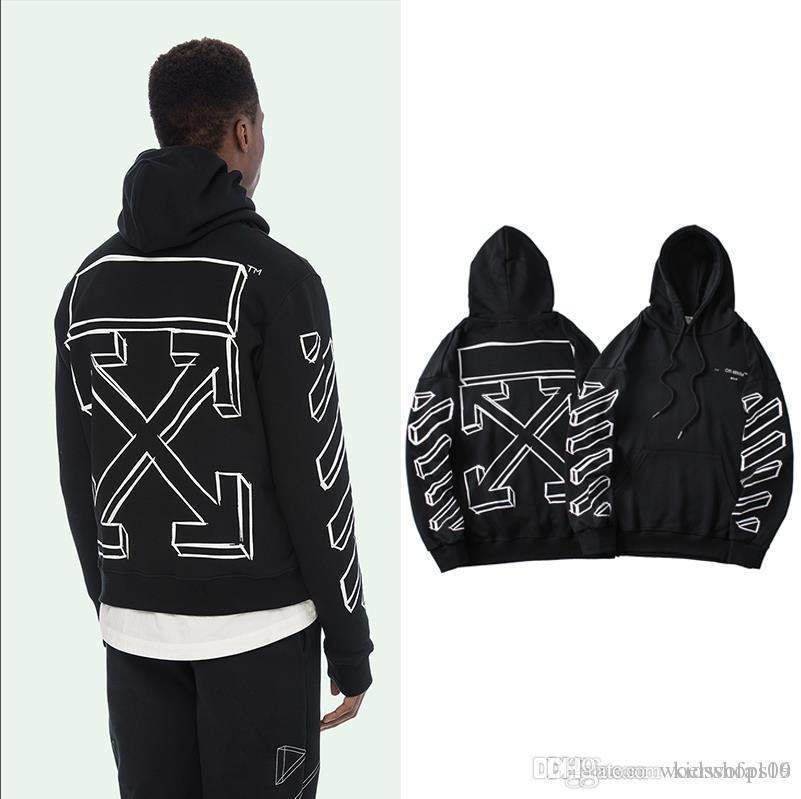 Men Pullover Black Plain Hoodie Fashion Active Long Sleeve Hooded Sweatshirt