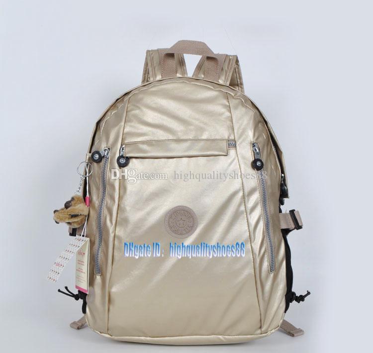 Men madam Ultralight stripe zipper waterproof Nylon monkey star PRINTED Multicolor pocket backpack City Pack in common use Pack K502-11