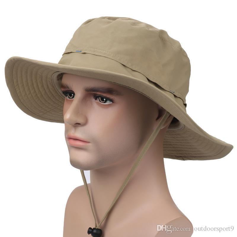 Los hombres y las mujeres al aire libre de la protección solar teclean sombrero del sol contra el verano ULTRAVIOLETA de los deportes de los deportes del sol sombrero del sol fabricante del sombrero del pescador