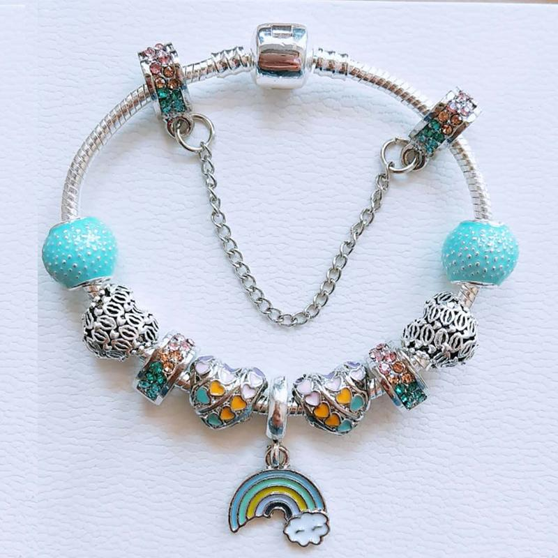 rainbow charm for pandora bracelet