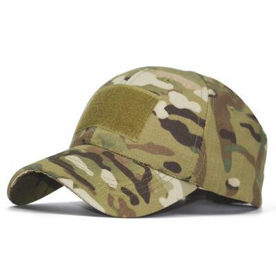 Камуфляж Бейсболка Casquette Открытый Спорт Tactical Cap Военные Sun Hat Спорт Волшебные наклейки Колпачки Дешевые DHL