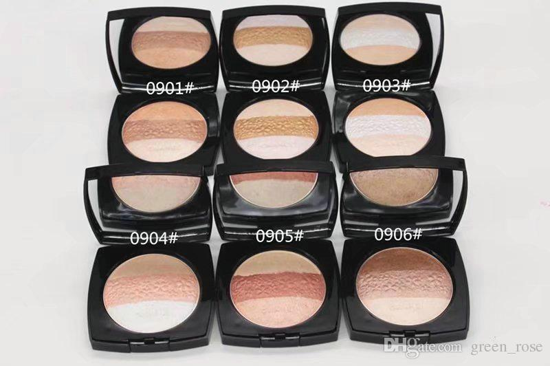 24pc HOT NEW Makeup Compacte powder Face Contour Cosmetics POWDER LUMIERES DE KYOTO BLUSH HARMONY Illuminating Powder Shimmer Pressed Face P