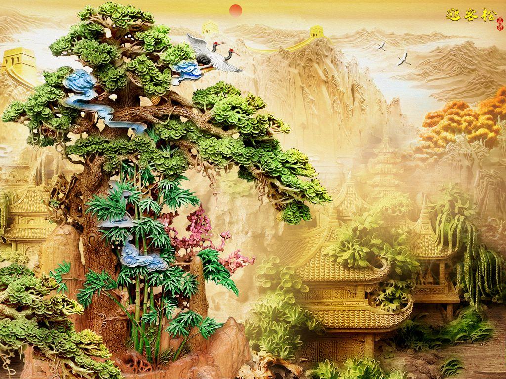 Großhandel 3D Vorhänge Pflanze Garten Bambus Modernen Wohnzimmer Vorhang Cortinas Dormitorio Blackout Von Yiwu2017 58 46 € Auf De Dhgate