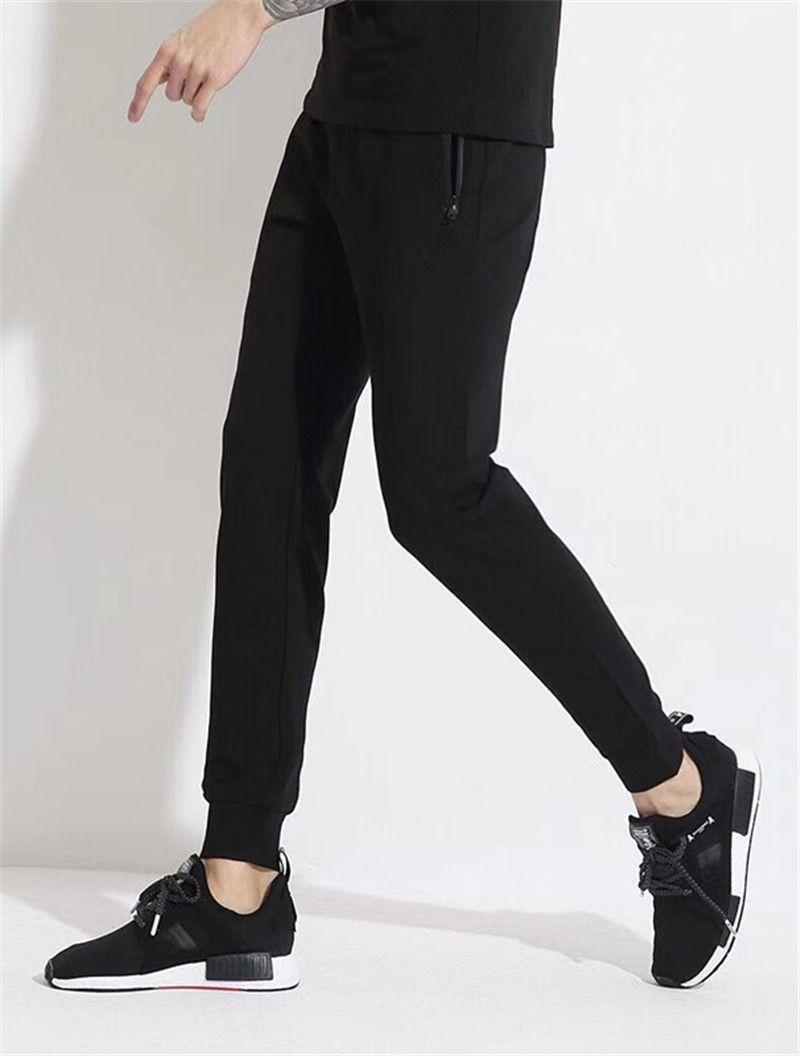 Hommes Casual combinaison peau fit pantalons de survêtement pour hommes pantalons joggeurs entraînement pantalons de survêtement hip hop rue porter de haute qualité
