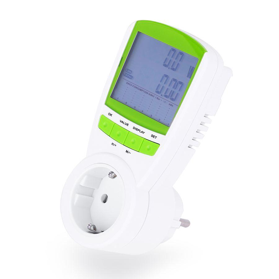 Freeshipping 스마트 전압 전류 테스트 LCD 에너지 미터 전력 계량 소켓 플러그 가전 제품 전원