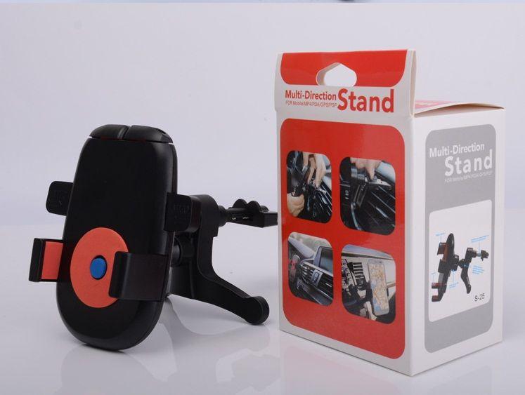 Soporte universal del soporte del teléfono móvil del soporte del teléfono móvil del soporte de 5 colores 360 grados de la rotación colorido 30pcs / lot