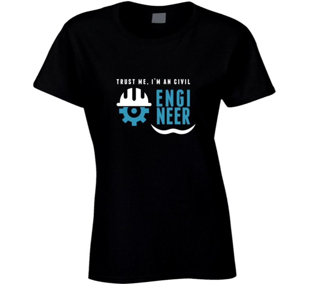 Женская футболка поверьте мне, Я Инженер-строитель-смешные футболки Kawaii женские повседневные футболки женщины топы тройники женщины Марка топы футболка Harajuku рубашка