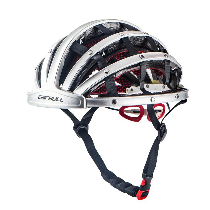 CAIRBULL Foldable City Bike Helmet Road Cycling Bicycle Portable Helmet Riding Mens Racing In-Mold Leisure Riding Helmet