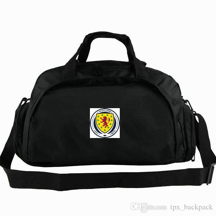 Scozia borsone Alba nazionale tote squadra Unito di calcio zaino calcio 2 uso pacchetto duffle spalla bagagli Sport Badge fionda