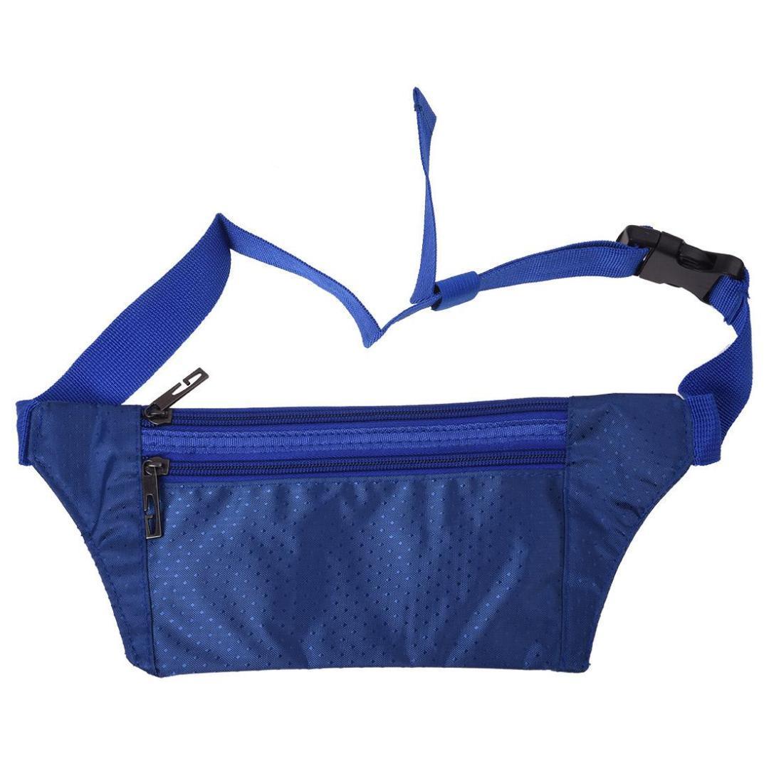 TFTP Mujer Dama Cintura Paquete de Fanny Bumbag Cadera Bolso Cinturón ajustable Moda