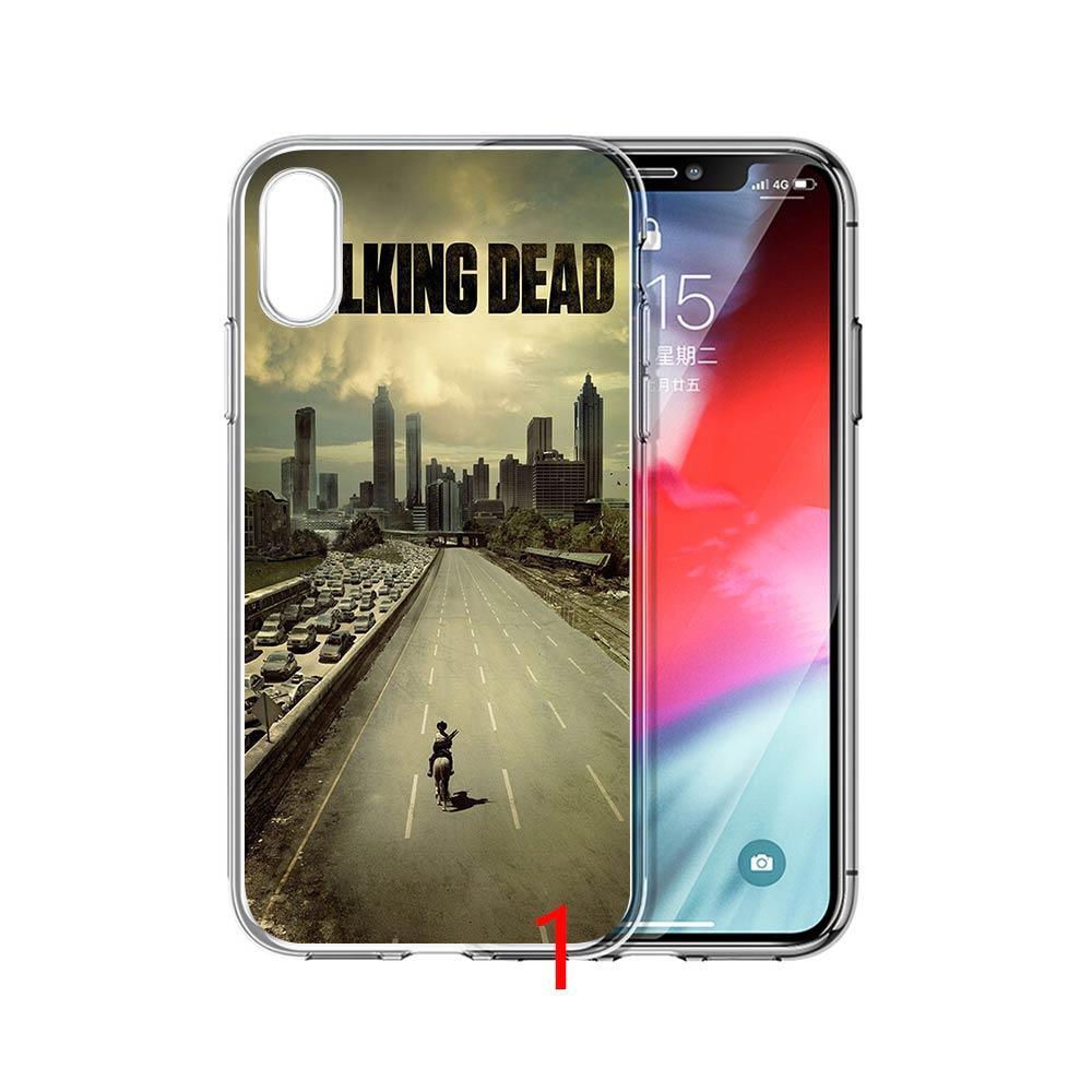 Carcasa Para Celular Funda De Silicona TPU The Walking Dead Para