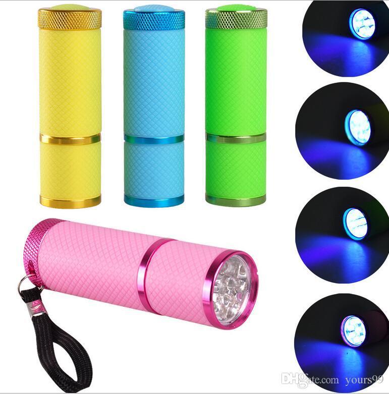 Mini Sèche-Ongles LED UV Lampe Date Professionnel Led Lampe Gel Polish Nail Dryer Lampe de Poche LED Cure Rapide Séchoirs À Ongles En Gros