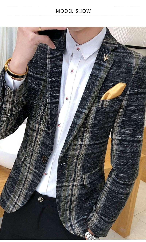 Suit Collar Men Jacket (3)