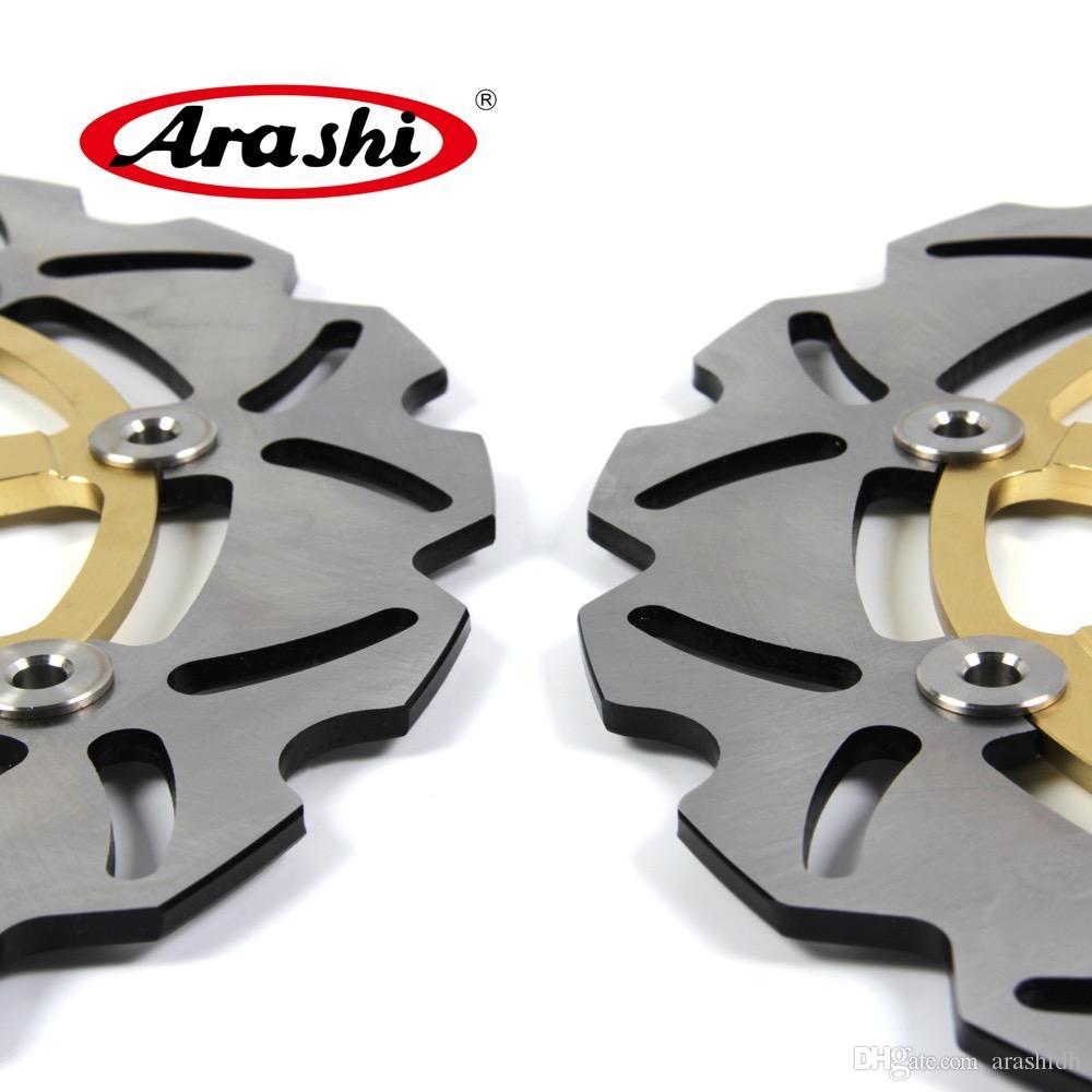 Discos de freio dianteiro da motocicleta de Arashi Rotores para Suzuki TL1000S 1997 - 2001 2000 1999 1998 TL 1000 S TL1000R 1998 - 2003