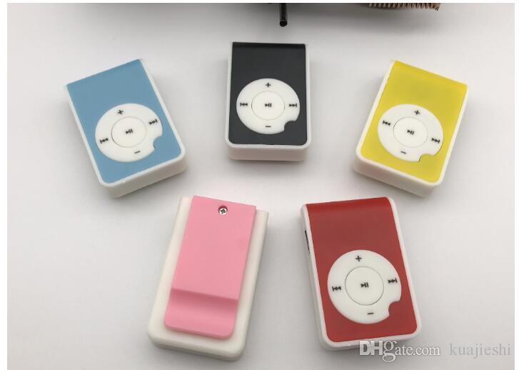 Clip on card MP3 new Q key no screen MP3 player student gift custom sports Walkman