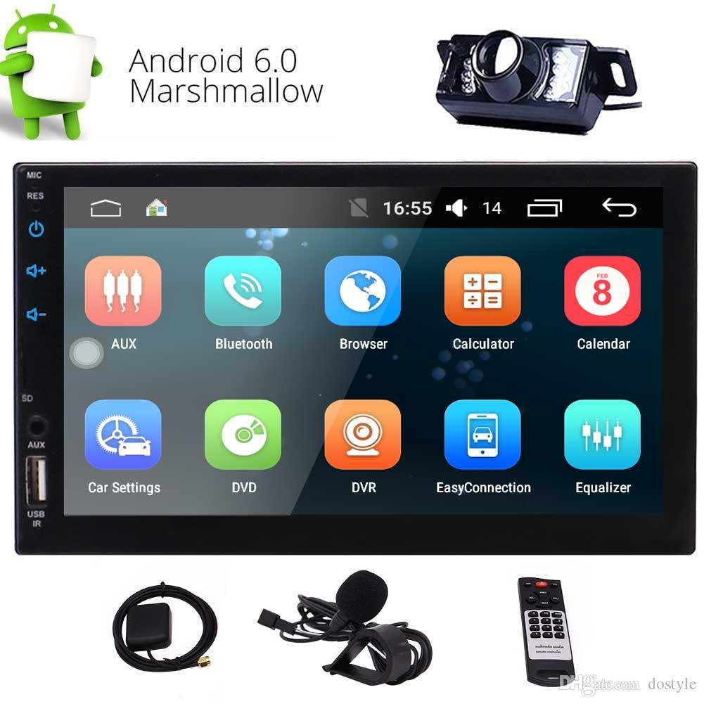 """Eincar 2-DIN In-Dash Car Stereo 7 """"Radio con pantalla táctil Autoradio Double 2 Din Android Carplay Head Unidad de navegación GPS Radio FM / AM RDS"""