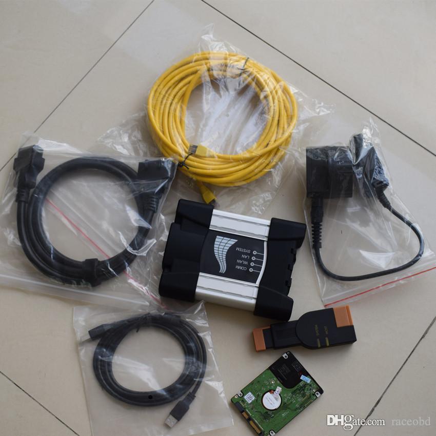 Per BMW Diagnostic Tool ICOM Avanti con HDD 1000 GB Software ISTA Expert Mode Windows 10 System