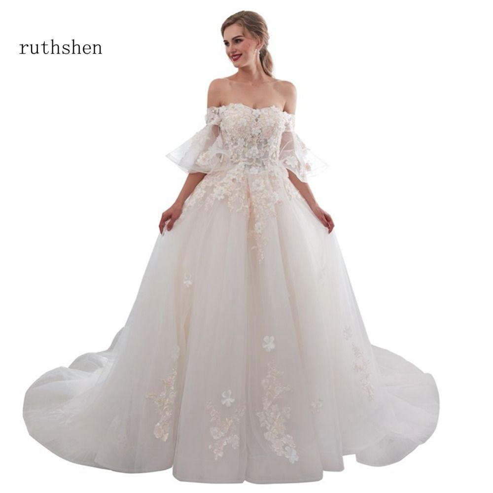 оптовые последние модные свадебные платья роскошные с плеча свадебное платье Vestido де Noiva Курто 2018 линия сексуальное свадебное платье