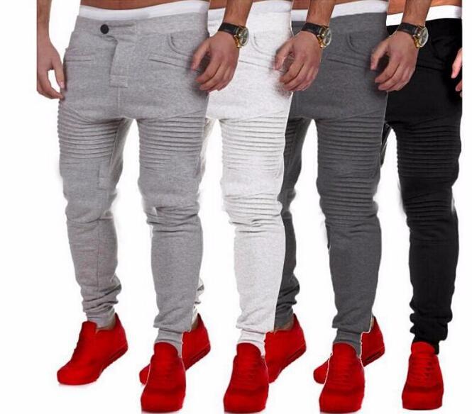 New Sports Pants For Men Spring Autumn Jogger Casual Slim Fit Long Pencil Pants Male Designer Long Trousers