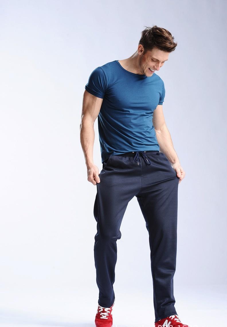 2993a9ace7d9 2018 Uwback 2018 Spring Sweatpants Men M 4xl Men'S Joggers Pants Cotton  Breathable Pantalon Homme Gray Navy Sweat Pant For Men Caa329 D18101102  From ...