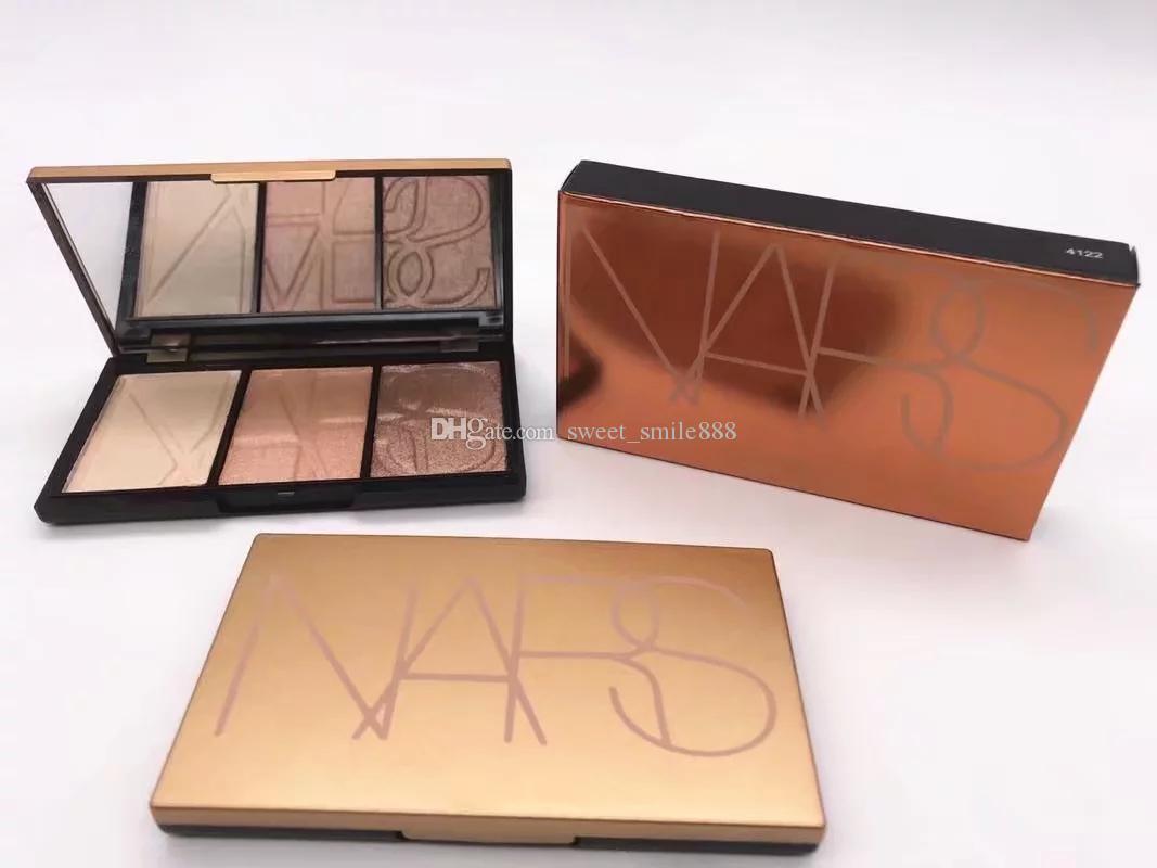 Neue marke make-up erröten palette 3 verschiedene farben 4mixed pattle hohe qualität versandkostenfrei mode comestics 1 stück