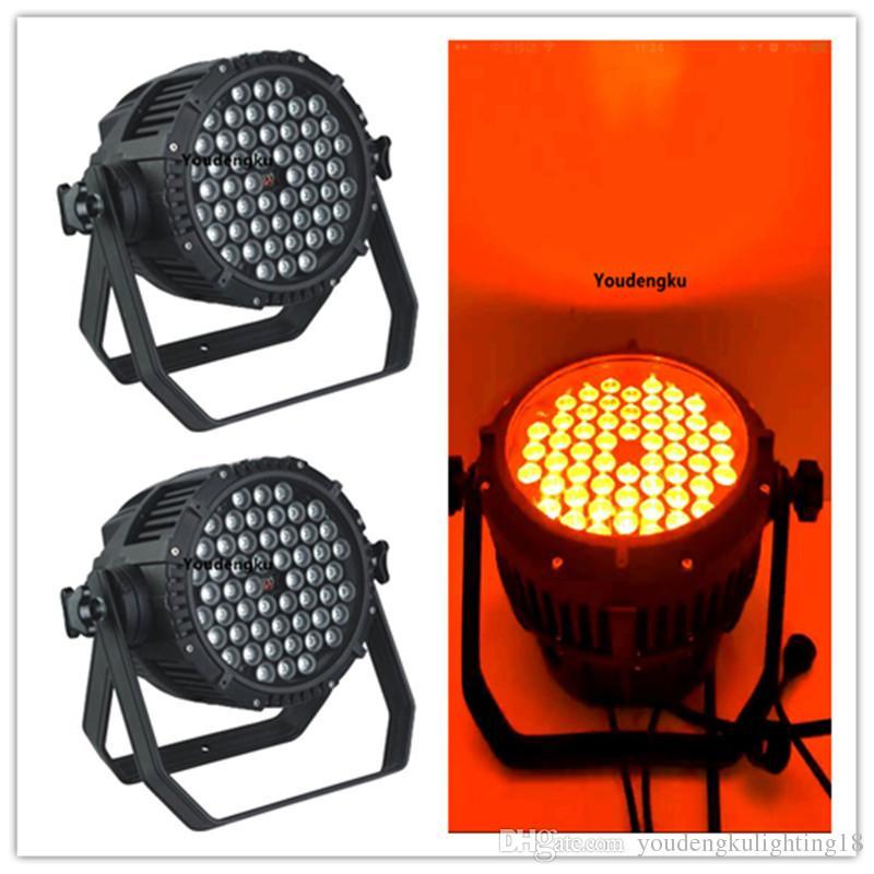 4 pieces par led ip65 dmx rgb led waterproof light led par 54x3w