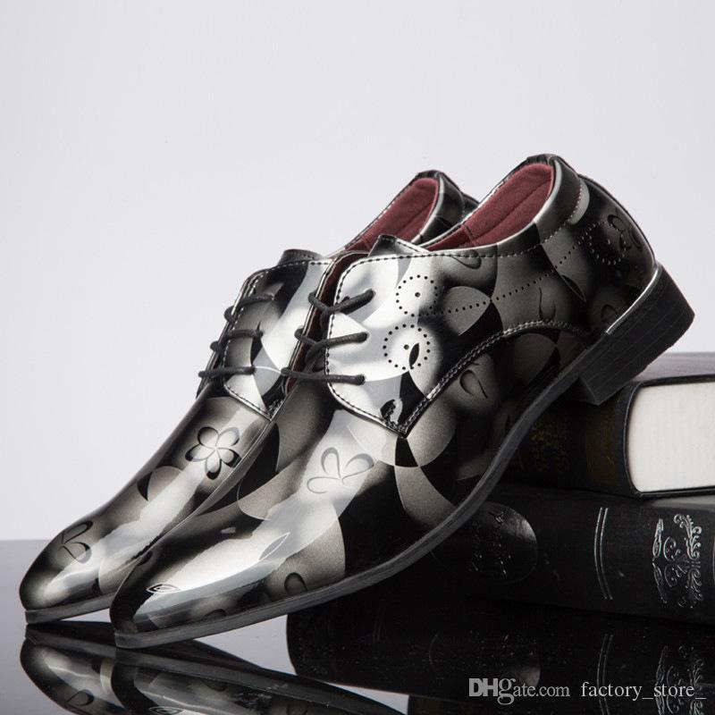 italienische marke formale schuhe männer oxford schuhe für männer designer lackleder hochzeit schuhe männer zapatos de hombre sepatu pria erkek ayakkabi