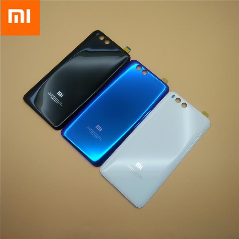 MI6 100% оригинал 3D стекло задняя крышка корпуса для XIAOMI MI 6, задняя дверь замена жесткого батарейного отсека, 3 цвета на складе Xiaom Mi6