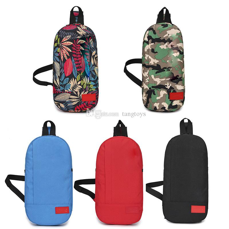 SUP الملونة للجنسين حقيبة الصدر أكسفورد القماش الأزياء الصليب الجسم واحد الكتف قماش الهيب هوب حزام حقيبة زيبر رسول حقيبة