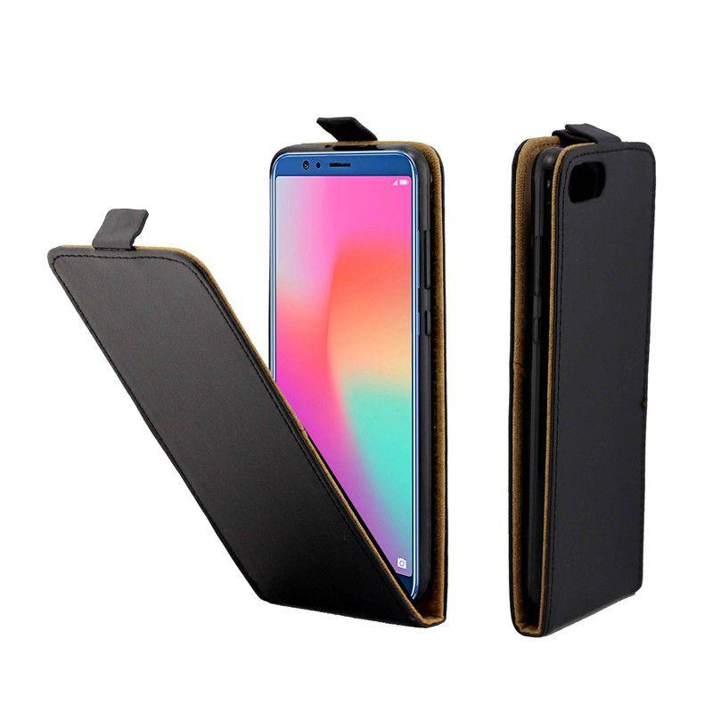 Business Ledertasche für Coque Huawei Honor 10 Vertikale Flip Abdeckung Kartensteckplatz Handytaschen
