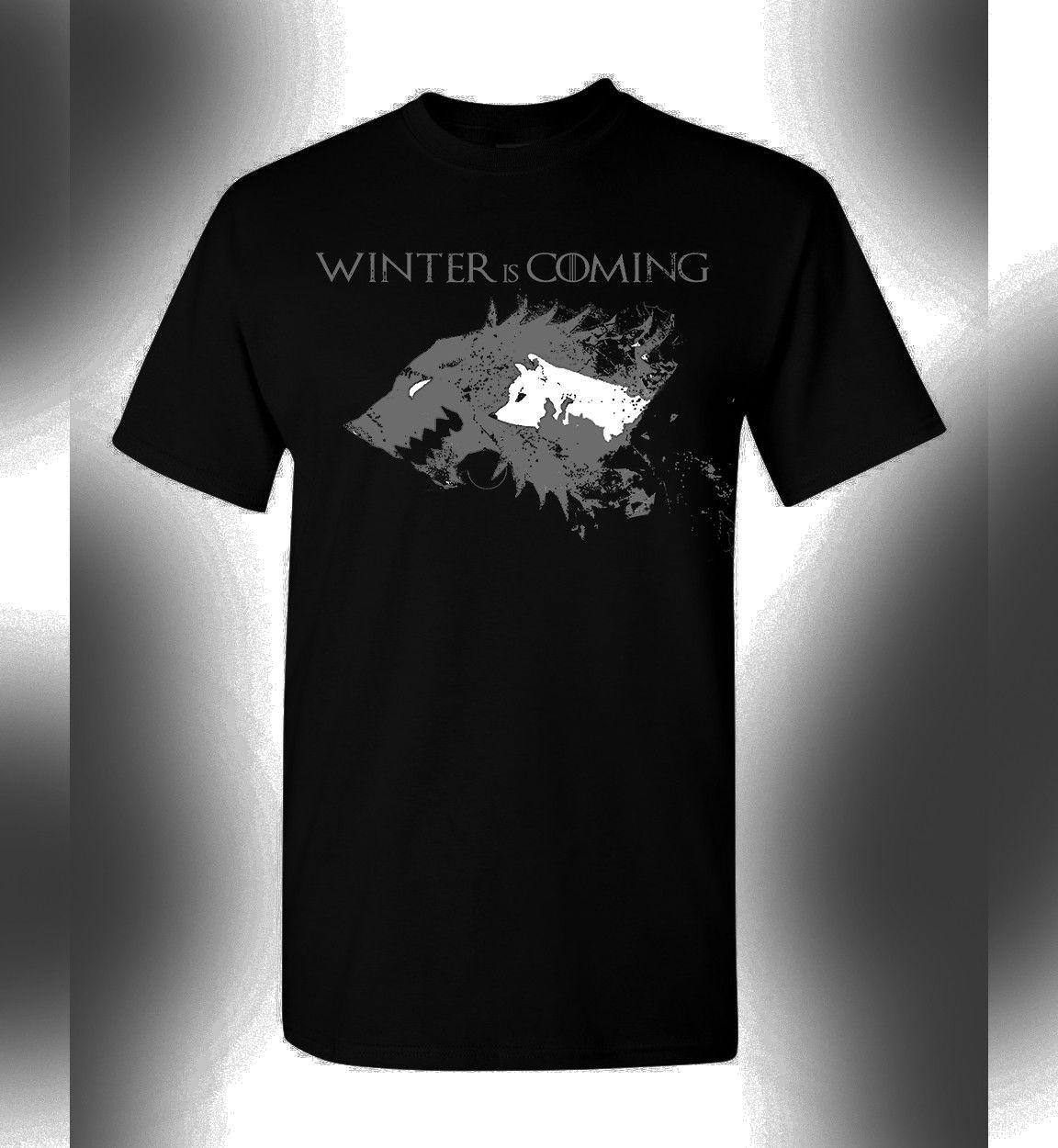 Game Of Thrones Tshirt T-Shirt Winter Is Coming