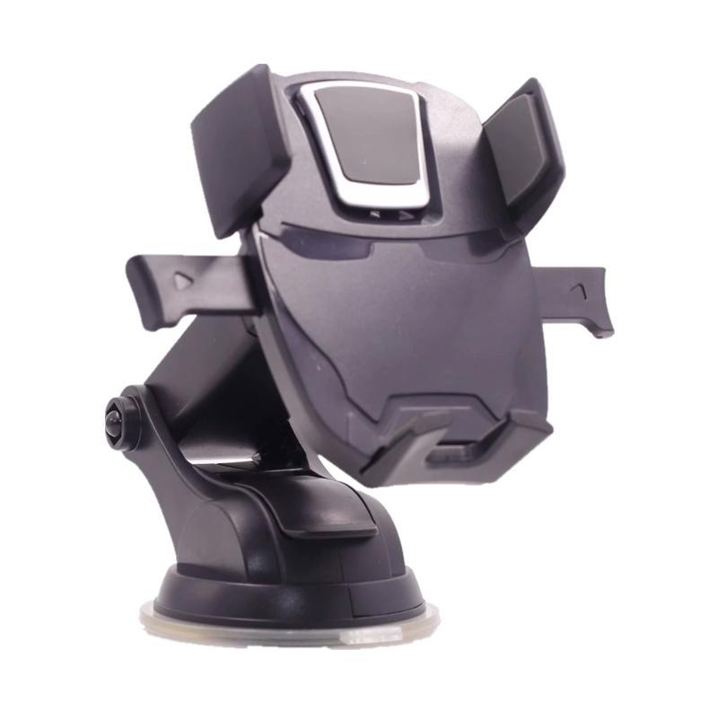 Supporto del telefono dell'automobile di lusso all'ingrosso per iPhone X Xs XR Max 8 7 più supporto di vetro del parabrezza di aspirazione cruscotto supporto 360 rotazione