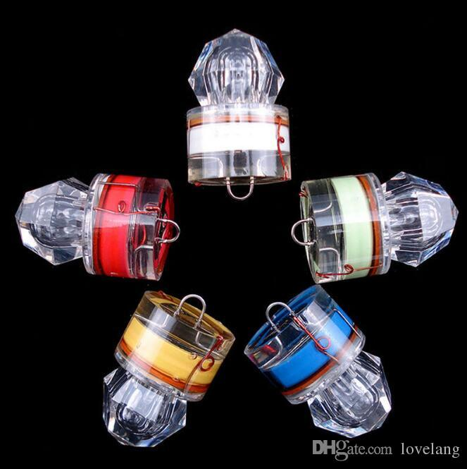 LED subacquea Deep Drop Diamante Pesca lampeggiante Bait Lure Squid Strobe Popolare Deep Sea Pesce Lampada