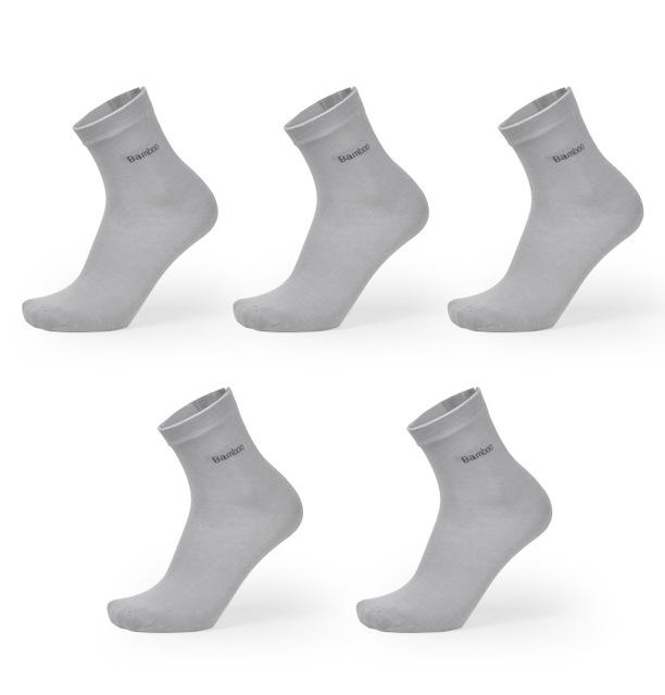 Brand New Men Bamboo Fiber Socks High Quality Casual Breatheable Anti -Bacterial Man Long Sock 5pairs /Lot Wholesale