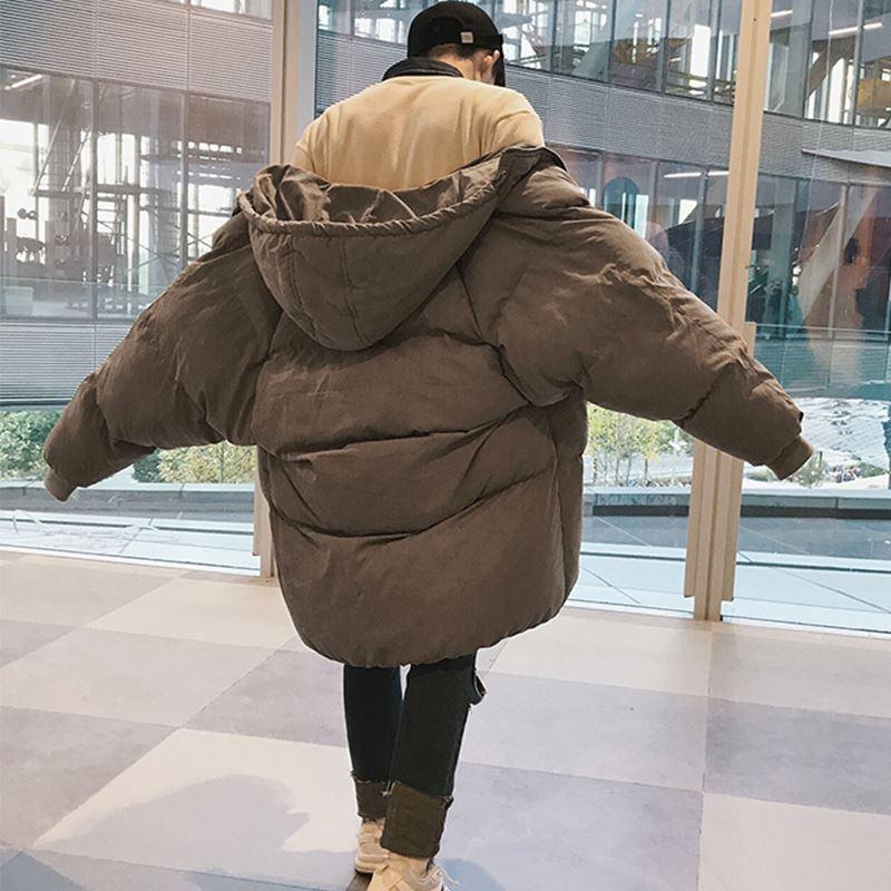 Privathinker Erkekler Kış Uzun Kapüşonlu Parkas 2018 Erkek Renkli Kabarcık Mont Siyah Parkas Erkek Kore Yüksek Kaliteli Sıcak Giysiler