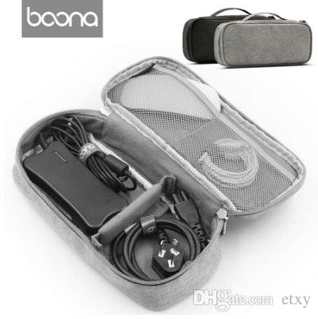 Boona Universal Electronics Accessories Travel bag / Hard Drive Case / Cable organizer/ Protective Sleeve Pouch Case Bag