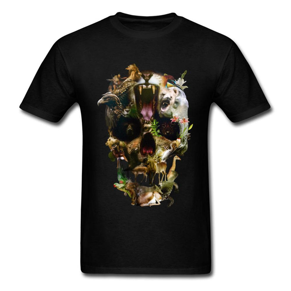 Kingdom Men Discount Summer Tops Tees O Neck Verano / Otoño 100% algodón Camiseta de tela Casual manga corta camiseta