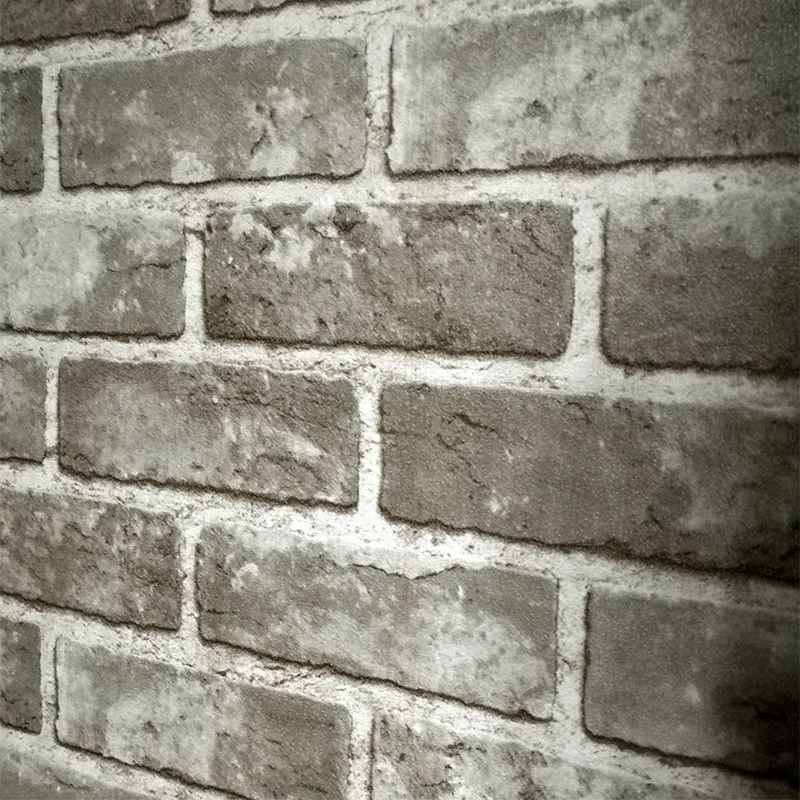 Vintage Chinese Style Brick Wall Wallpaper Bedroom Living Room 3d Pvc Brick Stone Wallpaper For Walls Roll Papel De Parede 3d Ha Wallpaper For Pc