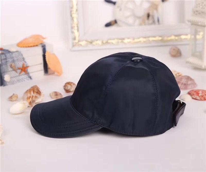 High Quality Canvas Cap mit Kasten Männer-Frauen-Hut im Freien Sport Freizeit Strapback Hut European Style Sonnenhut klassische Baseballmütze Top-Qualität