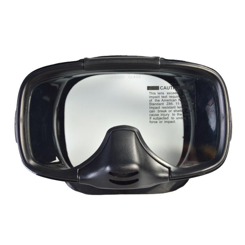 الغوص الكامل عدسة نظارات تحت الماء للصيد الصيد تحت الماء الرياضة نظارات سيليكون للماء M-255