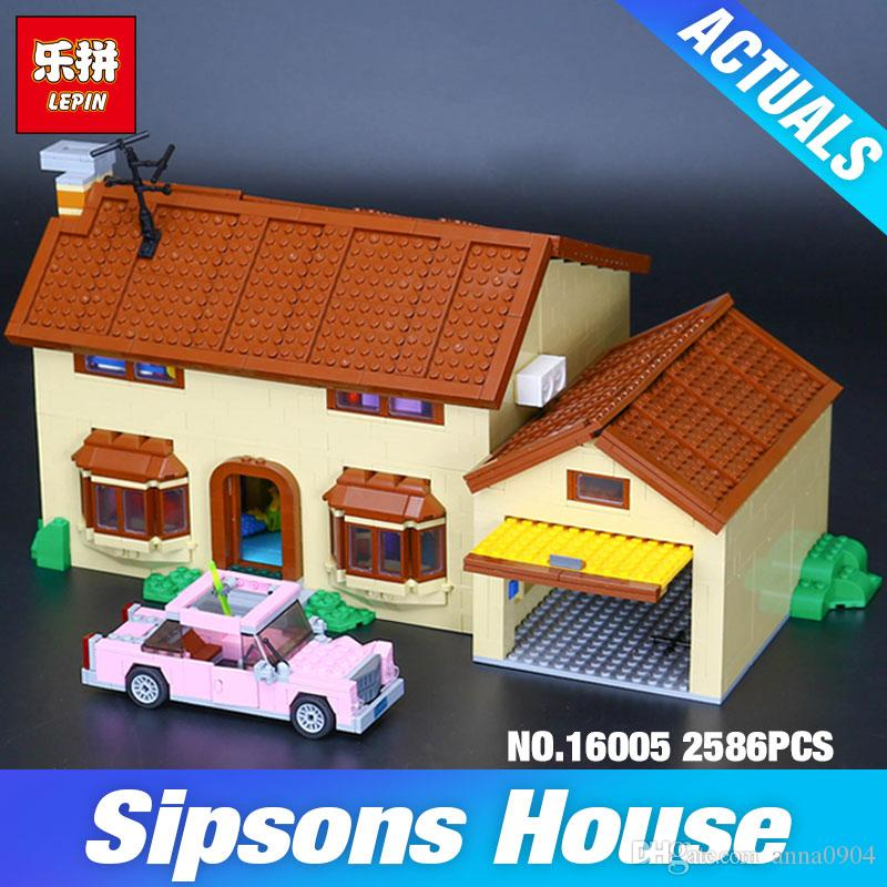 Simpsons House Model Building Block Bricks Children Toys GIfts For Boy 2575PCS