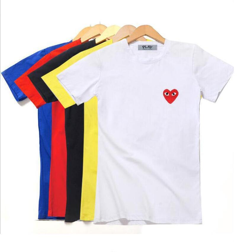 e151634e032a9 Play Luxury Brand Logo Women'S T Shirt Summer CDG Tee Shirt Femme Women T  Shirt Crop Tops Make T Shirts Shirt Designs From Dq888, &Price;| DHgate.Com