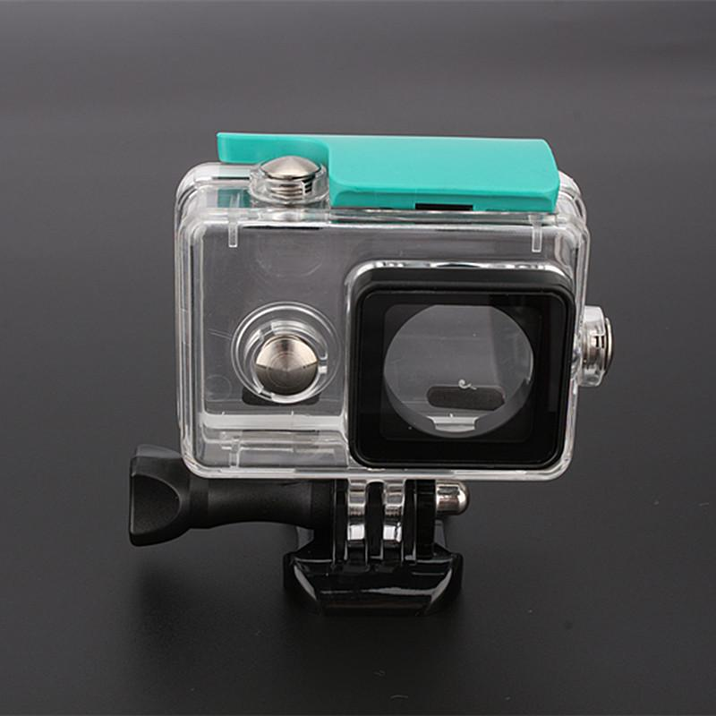 Freeshipping 40M Underwater Housing Case For xiaomi yi Action Camera Waterproof/Dustproof Case Diving Snorkeling Sports Box