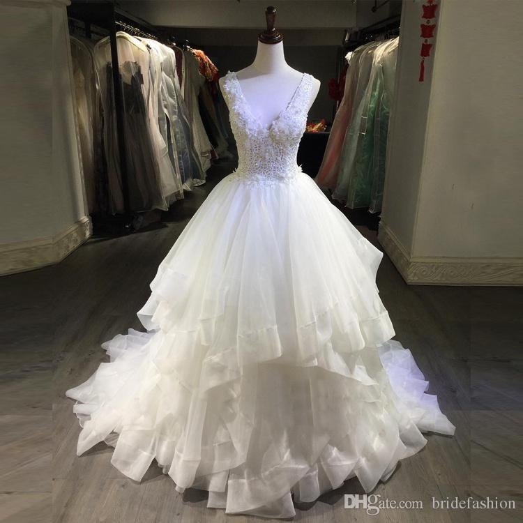 Betra Lace Applique A-Line Wedding Dresses With Sash Sheer Illusion Long Sleeve Ivory Elegant Bridal Gowns Backless Sexy Vestidos Cheap
