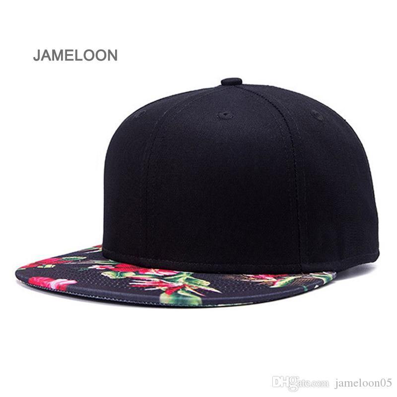 Beyzbol şapkası snap geri kapatma düz siperliği akrilik malzeme ayarlanabilir unisex boyutu tenis hiphop sokak dans basketbol spor kap